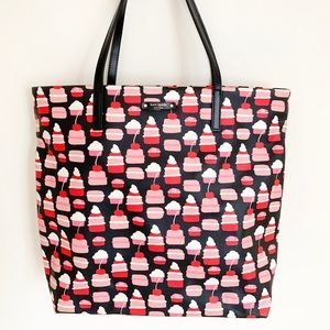 Kate Spade Take the Cake Bon Shopper Tote Bag